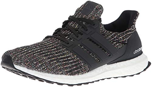 adidas Men's Ultraboost Running Shoe, Black/Carbon/ash Silver, 9 M -