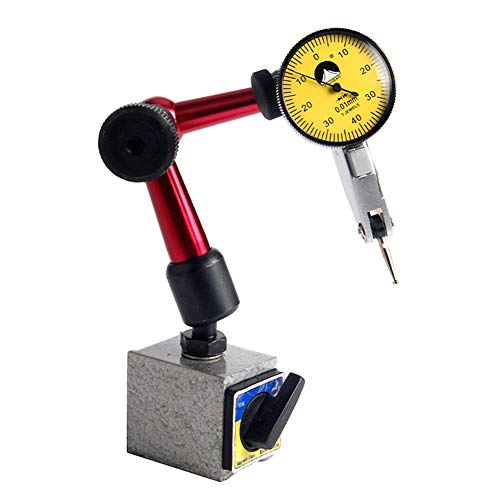 st Indicator with Magnetic Base 0-0.8mm/0.01mm Shockproof ()
