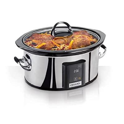 Crock-Pot Programmable Touchscreen Slow Cooker SCVT650-PS