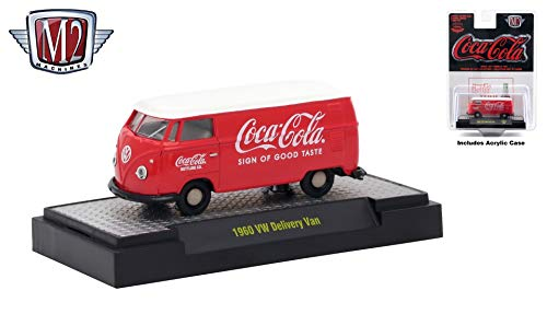 M2 Machines 1960 VW Delivery Van Limited Edition Coca-Cola for sale  Delivered anywhere in USA