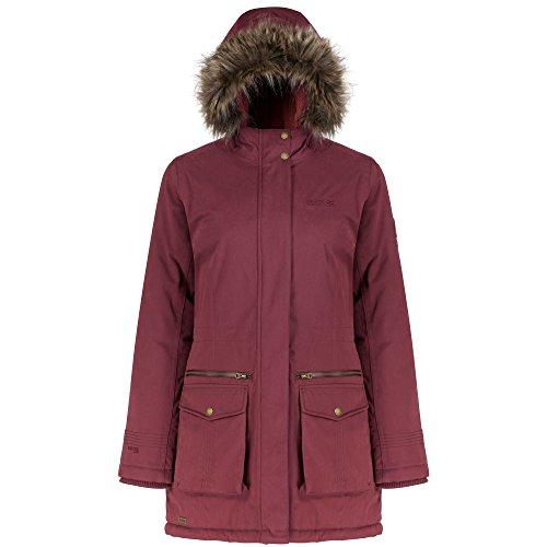 Regatta - Abrigo estilo parka impermeable modelo Snowstar para mujer Mora
