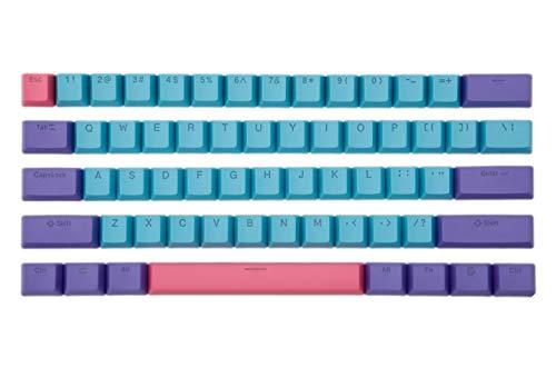 61 keycaps de colores pbt para teclados mecanicos 60% BOYI