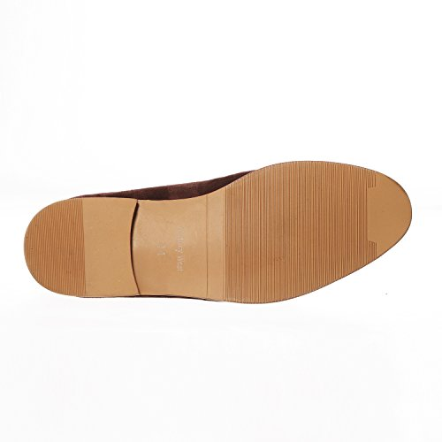 8b67471f5795c ... Voyage Ouest Daim Cuir Gland Mocassins Hommes Chaussures Slip-on  Mocassins Mocassins Mocassins Bureau Travail