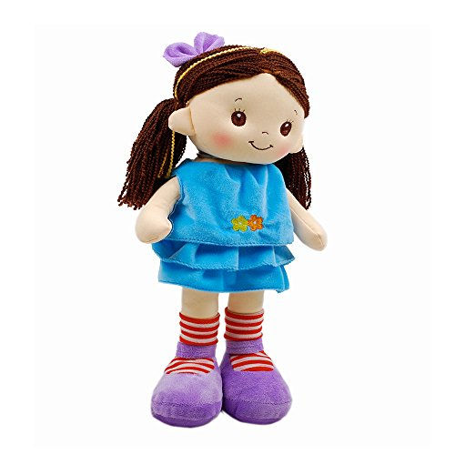 Linzy Hanna Rag Doll and Dress, with Spanish Music, Turquoise 16