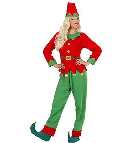 Ladies Santas Little Helper Elf Woman Costume Small Uk 8-10 For Christmas Panto (Panto Costumes Uk)