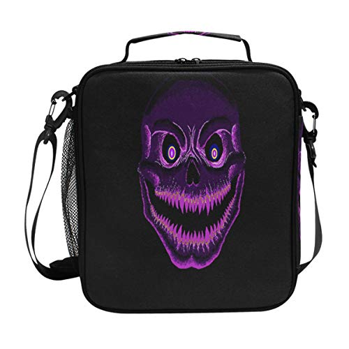 - Lunch Box Insulated Waterproof The Gallery Evil Purple Lunch Bag for School Office Picnic