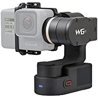 FeiyuTech WG2 3-Axis Wearable Gimbal Action Camera GoPro Hero 6 5 4 Session, Yi 4K, AEE, SJCam,Bluetooth Enabled