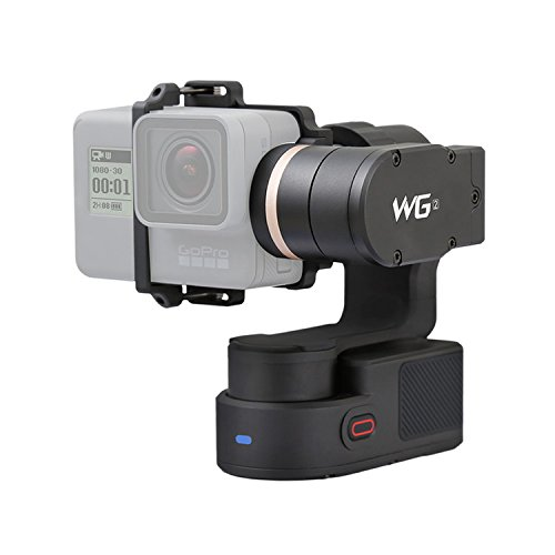 Wearable Gimbal FeiyuTech WG2 IP67 Waterproof Stabilizer Compatible with Action Camera GoPro Hero 5/4/Session, Yi 4K, AEE, SJCam by FeiyuTech
