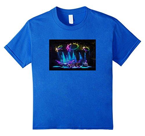 T-shirt Youth Shot (Kids Phish crowd shot t shirt, Kuroda CK5 8 Royal Blue)