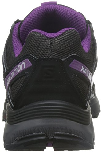 Salomon Damen XA Lite Traillaufschuhe Black/Magnet/Grape Juice