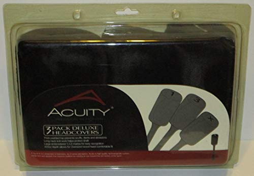 ACUITY 3 Pack Deluxe Headcovers
