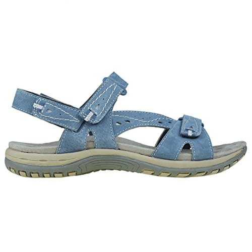 Blue Women's Earth Sandals Origins Sophie Moroccan XqACCnw81x