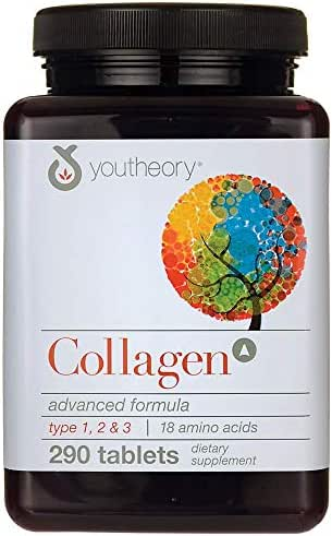 Youtheory Collagen Advanced, 290 ct