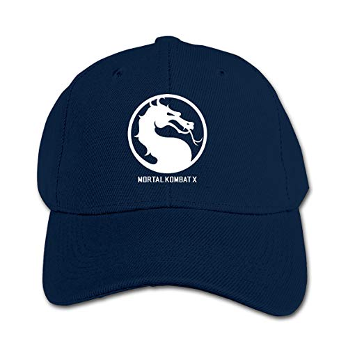 Huyuadu Youth Childrens Cotton Cap Plain Hat Baseball Mortal Kombat X Seal Hats Navy]()