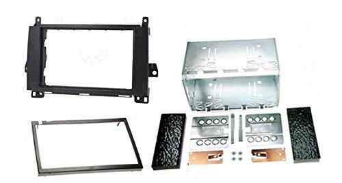 CARAV 40 –  180 * DIN auto Radio Radio pannello Set per Mercedes Classe A (W169) 2004 –  2012, classe B (W245) 2005 –  2011, VITO 2006 +, Viano 2006 + con cornice in metallo VITO 2006
