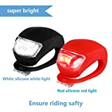 REFUN Bicycle Light - Front and Rear Silicone LED