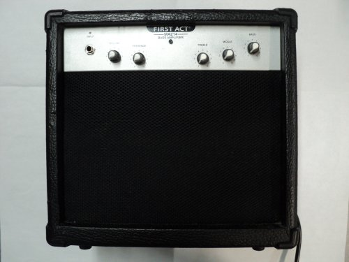 First Act: MA214 Guitar Bass Amplifier (2003 Older Model)