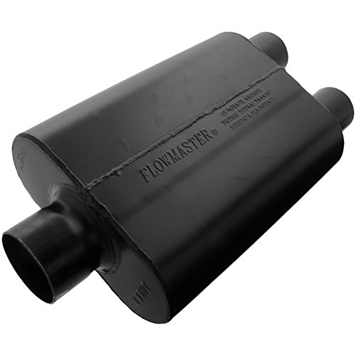 Flowmaster 9430452 Super 44 Muffler - 3.00 Center IN / 2.50 Dual OUT - Aggressive Sound