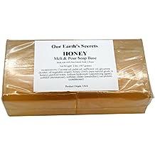 Honey - 2 Lbs Melt and Pour Soap Base - Our Earth's Secrets