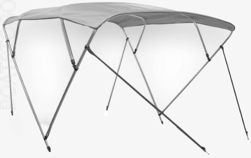 Saturn 4-Bow Bimini Top Sun Shade for Inflatable Boats, Jon Boats and Fiberglass Boats. by Saturn