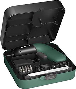 Bosch IXO VI Classic - Atornillador inalámbrico (6ª generación, color verde, regulación de velocidad variable, en caja de almacenamiento)