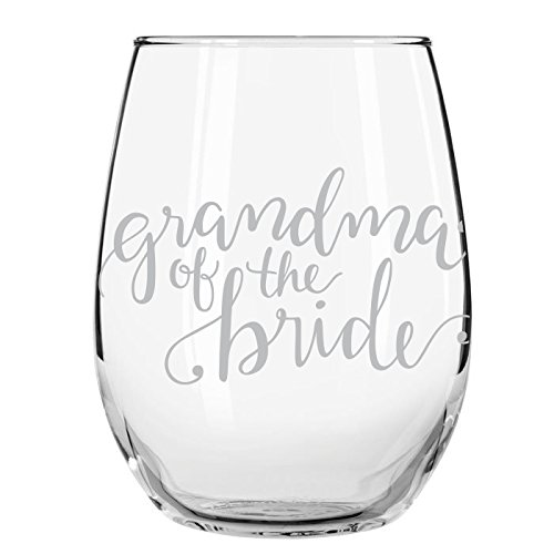 Wedding Party Wine Glasses (Grandma of the Bride, ()