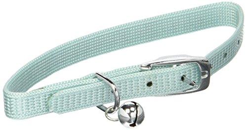 (Catit Nylon Adjustable Cat Collar with Rhinestones, Blue)