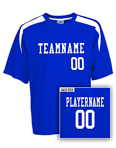 Youth Custom Sweeper Soccer Jersey, Personalize with YOUR Names & - Visors Team Custom