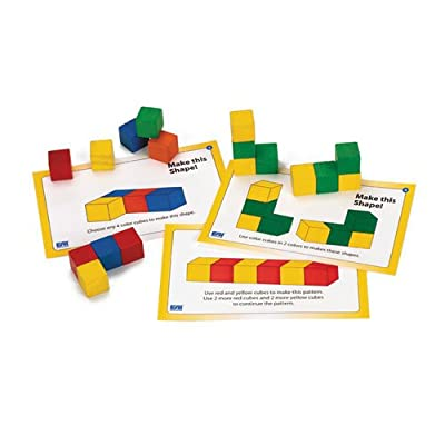 EAI Education Color Cubes Task Cards - Set of 24: Toys & Games