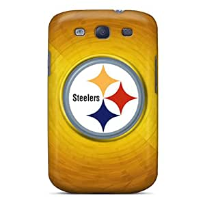 Premium Protection Pittsburgh Steelers Case Cover For Galaxy S3- Retail Packaging
