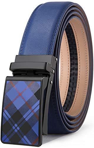 Mens Belt,Bulliant Leather Click Ratchet Belt For Mens Dress Casual Golf Belt,Size-Customized ()