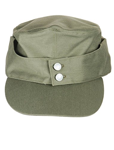 WWII German Army Elite EM M43 Summer Hat Cap Green (M(57CM))