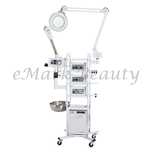 eMark Beauty 13 in 1 T4 Multifunction Facial Machine Ozone Aromatherapy Steamer Microdermabrasion. ON ALL WARRANTY WORK by eMark Beauty