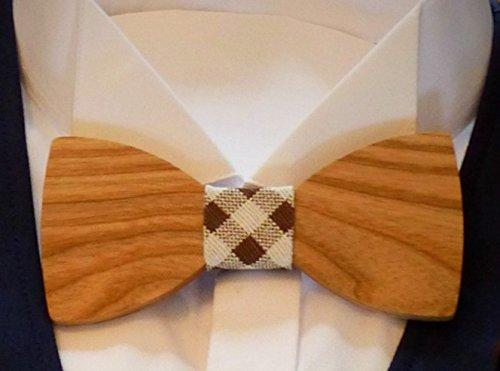 El Gusto Marken Holzfliege Hochzeitsfliege Retro hochwertig klassisch elegant
