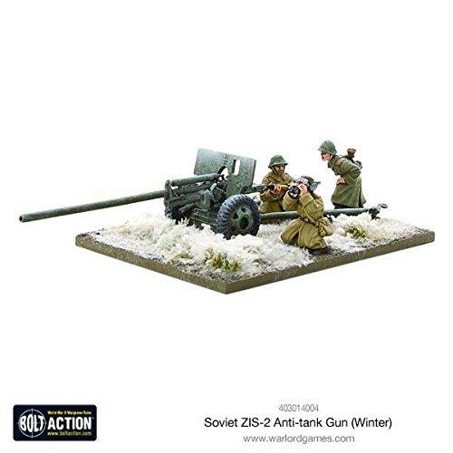Bolt Action Soviet Zis-2 Anti-tank Gun (winter) Blister - Metal