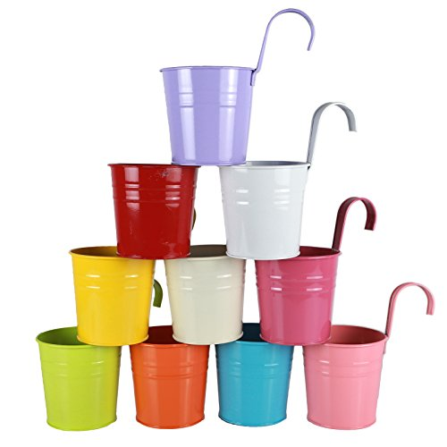 10 pack flower pots - 1