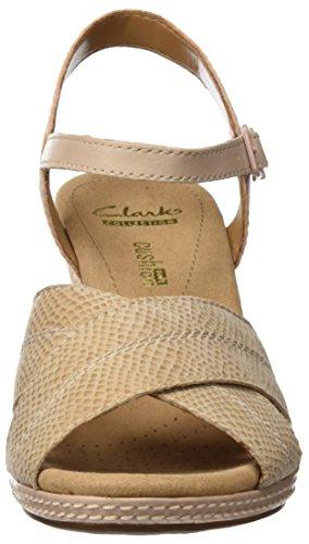Clarks Helio Latitudine Beige Caviglia (pelle Nuda)