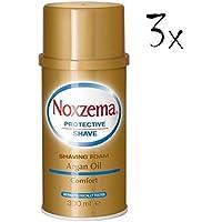 3x noxzema Argan Oil Shaving Foam Cream Jabón Espuma arganöl 300ml