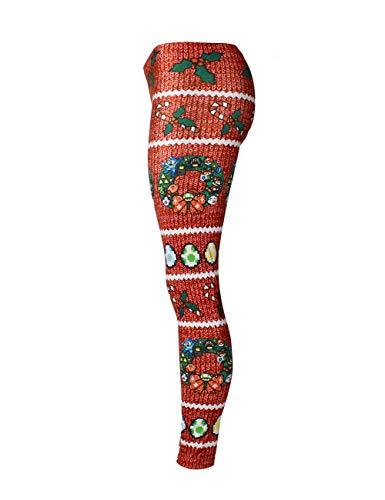 Feelingirl Femme S Serie Noel Legging Pantalon 8 xl Vetement De qvHrq