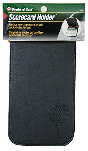 Jef World of Golf Gifts and Gallery, Inc. Scorecard Holder (Black)