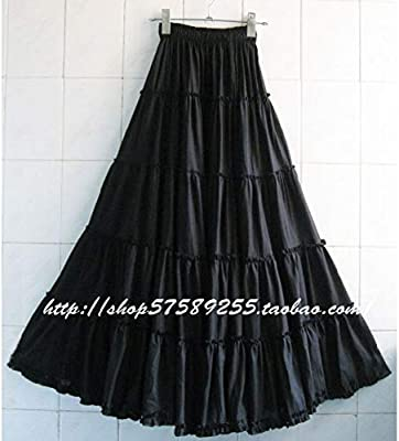 DAHDXD Bohemia Mujer Long Beach Faldas Tallas Grandes Chicas de ...