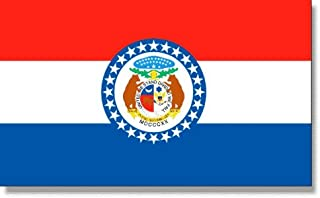 product image for 5x8' Missouri 2ply Polyester State Flag