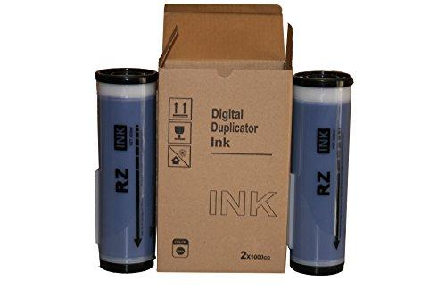 Price comparison product image 2 Blue Wholesale Widgets Brand Universal Inks, Compatible with Riso RZ Series Duplicators RISRZBLUEC