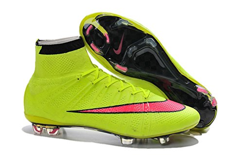 de Top x Superfly nbsp;FG Football Hi Veste Jaune Generic de Bottes Mercurial Chaussures 10 football wnfqWvnxat