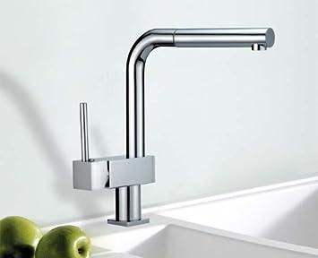HAC24 Designer Küchen Armatur Mit Schlauch-Brause | Messing ...
