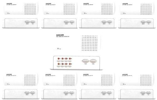 41Pct4q%2Bn7L c0b kocom 8 way handsfree led office, home business intercom kocom intercom wiring diagram at mifinder.co