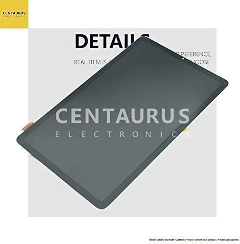 CENTAURUS Galaxy Tab S6 Lite LCD Display Touch Screen Digitizer Glass Faceplate Assembly Glass Repair Compatible with Samsung Galaxy Tab S6 Lite P610 SM-P610 SM-P615 10.4 inch (Without Frame)