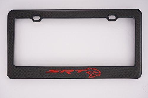 license plate frame chrysler srt - 6