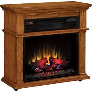 Duraflame Infrared Rolling Mantel Electric Fireplace - 1500 Watts, Model# 23I...