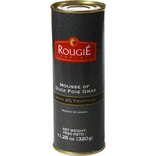 Rougie Mousse of Duck Foie Gras with 2% Truffles - 11.2oz - Pork-Free ()